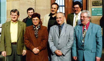 M. le Maire et ses 6 adjoints (Photo: Y.Beurrier)